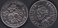 NOUVELLE CALEDONIE   20 FRANCS 1991   SPLENDIDE