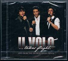 IL VOLO ...TAKES FLIGHT LIVE FROM THE DETROIT OPERA HOUSE CD SIGILLATO!!!