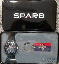 Florida Panthers Spirit Style Watch and Keychain Gift Set NHL Hockey