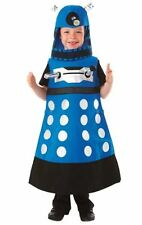 AUTHENTIC UK BBC DR DOCTOR WHO BLUE STRATEGIST DALEK COSTUME BOYS CHILD XS 3 4 5