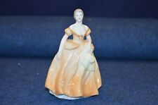 Lovely Coalport ''Michelle'' Porcelain Figurine Made In England USC RD6713