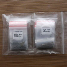 55 Values*50pcs 0603(1608)SMD capacitor Assortment kit(1pF~1μF)high quality