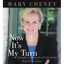 BOOK/AUDIOBOOK CD Mary Cheney Politics NOW IT'S MY TURN