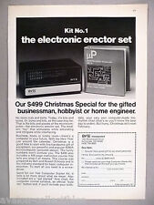 BYT-8 Computer Starter Kit PRINT AD - 1977 ~~ Byte Inorporated