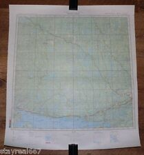 Authentic Soviet SECRET Military Map Blind River Copper Cliff Canada USA #100