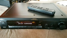 SDP EP9ES Sony Digital Surround Processor PreAmp Theater 5In 1out Fiber W Remote