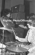 Jimi Hendrix im Star-Club Hamburg 1967 seltenes 30x45cm Konzert Foto Poster.