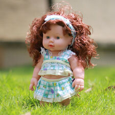 Lifelike Realistic Kids Baby Doll Newborn Vinyl Reborn Girl Toy Gift Christmas