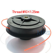 Dual Line Trimmer Head For Komatsu STIHL Husqvarna Bush Cutter Thread M10*1.25mm