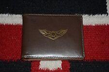 Ralph Lauren RRL Dark Brown Leather Bifold Wallet