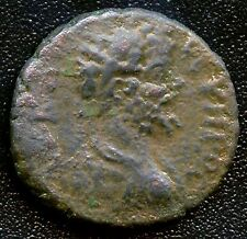 "Ancient Roman Colonial Coin "" Lucius Verus "" 161 - 169 A.D. 16 mm Diameter"