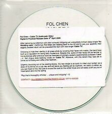 (898D) Fol Chen, Cable TV - DJ CD