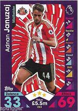 2016 / 2017 EPL Match Attax Base Card (263) Adnan JANUZAJ Sunderland AFC