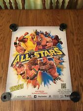 WWE All Stars Game Poster Hulk Hogan 22X28 Single Sided New!