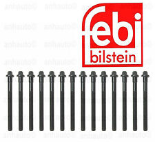 Febi 14-Piece Engine Cylinder Head Bolt Set BMW M50 M52 M54 NEW