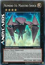 Numero 16: Maestro Shock ☻ Super Rara ☻ CT09 IT014 ☻ YUGIOH ANDYCARDS