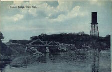 Onset Cape Cod MA Dummy Bridge c1910 Postcard #2