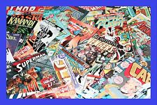 RANDOM 50 COMIC BOX STARTER KIT LOT MARVEL & DC SUPERMAN BATMAN SPIDER MAN IRON