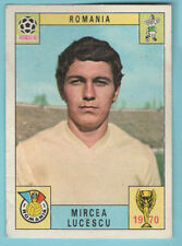Panini Mexico 70 1970 Original Mircea Lucescu Romania ex album but clean card