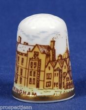 Caverswall Sandringham Royal House Norfolk Signed M. Grant. China Thimble B/100