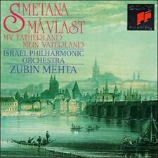 Bedrich Smetana: Ma Vlast/My Fatherland (CD, Sep-1994, Sony) New Sealed Unopen