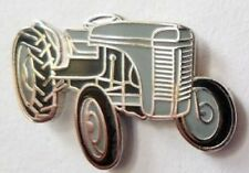 MASSEY FERGUSON TRACTOR LAPEL BADGE GREY FERGIE
