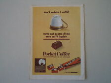 advertising Pubblicità 1969 FERRERO POCKET COFFEE