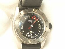 Men's Swiss ESQ by Movado Squadron Compass Watch Wristwatch Leather Band