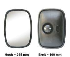 Außenspiegel Wohnmobil Zusatzspiegel Wohnwagenspiegel 265x190mm ø14-23mm R300