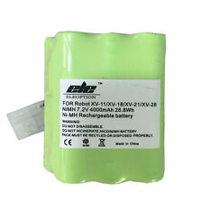 4000mAh 7.2V Ni-MH Spare Battery For Neato XV-11 XV-12 XV-14 XV-15 XV-21 XV-25