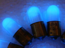 Blue Neon Light Bulb, Indicator 10pcs