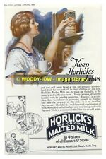 rp11870 - Advert for Horlicks Malted Milk Drink in 1926 - photo 6x4