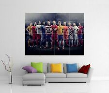 DREAM TEAM ELITE 11 RONALDO NEYMAR DEMPSEY GIANT WALL ART PRINT PHOTO POSTER J99