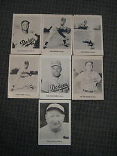 Vintage (1961 or 62) Pictures-Brooklyn/Los Angeles Dodgers-Campanella-Newcombe