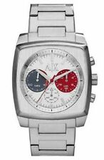 NEW MENS ARMANI EXCHANGE A|X (AX2254) STAINLESS STEEL STRAP CHRONOGRAPH WATCH