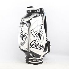 New Guiote White Spider Golf staff bag caddie cart bag comes with Rainhood