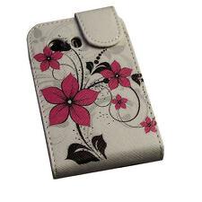 Design 4 Flip Tasche Cover Case Handy Hülle Etui  für Samsung S5360 Galaxy Y