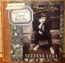 SUZANNE VEGA SIGNED EVENING CARSON MCCULLERS B&N LTD ED RED VINYL LP ONLY 1,000