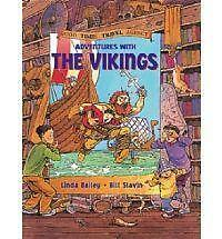 Adventures with the Vikings (Good Times Travel Agency),Bailey, Linda,New Book mo