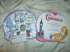 DISNEY CINDERELLA FIGURINE SET  9 PC  Limited Edition