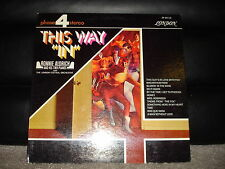 """London Records SP-44116 Ronnie Aldrich And His Two Pianos - This Way """"In""""  1968"""