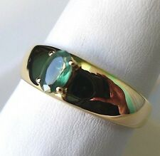 Natural Alexandrite 10K Gold Ring, Size 10, 0.45Ct, Certificate