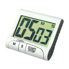 Portable Digital Countdown Timer Clock Large LCD Screen Alarm for Kitchen Cook