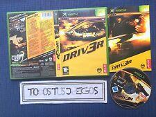Driver 3 Driv3r Xbox BUENA CONDICION