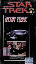 STAR TREK classic collection vhs 16 la forza dell'odio- spazio profondo