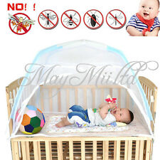 Safe Baby Kid Child Cot Bed Foldable Fold Mosquito Net Tent 110*70*70 O