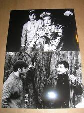 LOT 2 RARES PHOTOS DE STARS / DOMINIQUE LAVANANT, G. LOUSSINE / TB ETAT