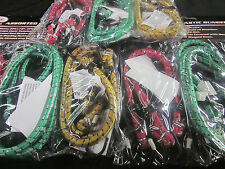 "18pc ASSORTED 12"" 18"" 24"" BUNGEE CORDS TIE DOWN SHOCK STRAPS TARP ELASTIC CORD"