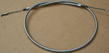 ***38619-57 Harley XL Sportster Stock Length 1957-1977 Braided Clutch Cable #228