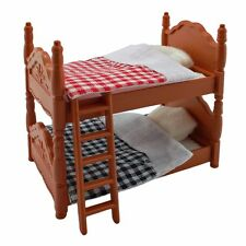 Plastic Bunk Bed Quilt for Sylvanian Families Furryville Calico Critters Dolls